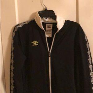 Umbro jacket Soccer Zip Up track jacket Size Small